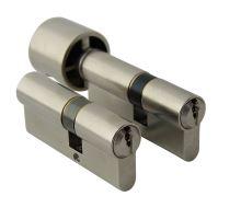 Cylidrická vložka WILKA 1400+1405 B 50/50+50/50G 6kl.barva stříbrná
