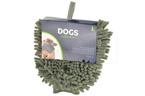 Ručníková rukavice na osušení psů DOGS (32x18cm) - 8719987076701