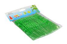 Plastové napichovátka na jednohubky 50ks - Zelené (11cm) - 8657988209356
