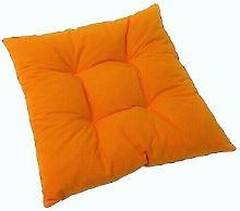 VERATEX Sedák prošívaný  40x40 cm (oranžový)