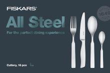 Fiskars Sada příborů All Steel, 16 ks (1054778)