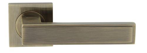 Dveřní dělené rozetové kování GUSTAW-QR Klika štít hranatý