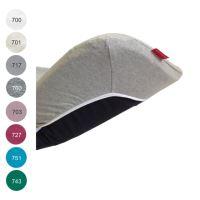Aesthetic Prostěradlo do kočárku, košíku - bavlněný úplet - 32x75cm - mix barev TYP: 717 - šedá holubí