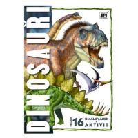 omalovánka A4 Dinosauři (8595593817750)