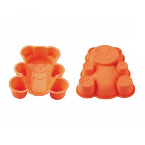 Blaumann BL-1274; Silikonová forma na dort - Medvídek - Oranžová