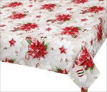 VERATEX Vánoční ubrus - vánoční hvězda 120/140cm