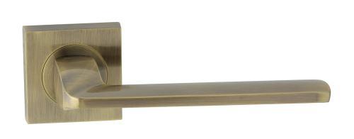 Dveřní dělené rozetové kování TIME-QR Klika štít hranatý