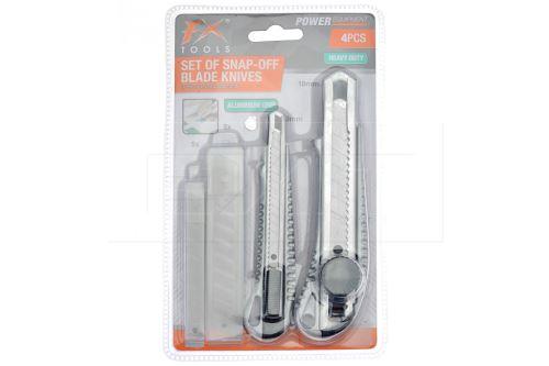 Sada hliníkových ořezávacích nožů a čepelí FX - 8719202814194