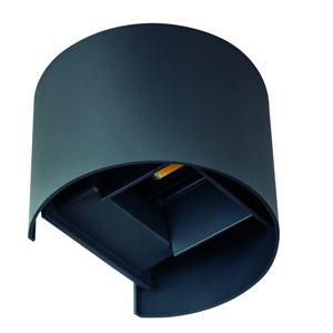 Kanlux Nástěnné venkovní svítidlo 28991 REKA LED EL 7W-O-GR  grafit