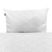 Aesthetic Povlečení bavlněné plátno - MINIMUM šedá Rozměr: 100x135, 40x60 cm