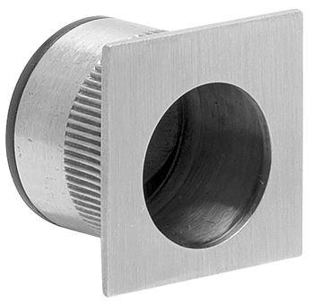 Madlo k posuvným dveřím náprstek  nerezová ocel hranatý