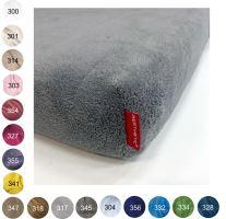 Aesthetic Prostěradlo mikroplyšové - 90x200 cm - mix barev Barva: 317 - šedá holubí