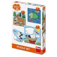 puzzle baby 3-5 - zvířátka kde žijí (8590878325111)