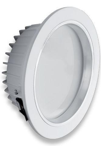 GTV  LD-SOW18W-CB LED downlight SOLERO teplá bílá, 18W, IP54, 1350lm