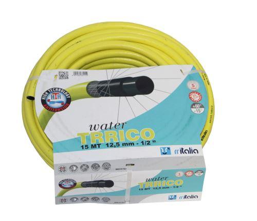 """PROTECO - 10.81-ZL-12-50 - hadice zahradní i pro pitnou vodu 1/2"""" 50m žlutá"""