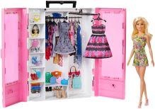 Šatní skříň na oblečení pro panenky Barbie