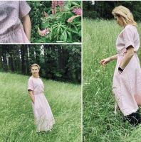 Aesthetic Dámské šaty ARTLINE - starorůžová