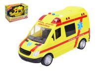 Záchranka pro kluky (22cm) - Vozidlo ambulance se zvukovými a světelnými efekty - 8590331110971