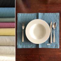 Aesthetic Lněné prostírání - mix barev - 100% len, gramáž 245g/m2 Barva: Natural