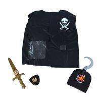 Dětská sada vesta pirátská s příslušenstvím (8590687208681)