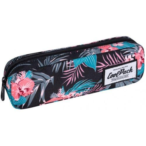 Pouzdro na školní tužku Coolpack Tropnik. Barevné. Tropické