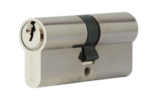 Stavební cylidrická vložka DMO 31/36 barva stříbrná