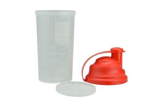 Plastový shaker TVAR 700ml (23,5x10cm)