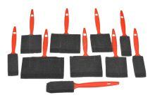 10 kusů molitanových štětců - 9881397092714