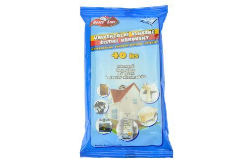 Univerzální vlhčené čistící ubrousky - 40ks (20x17.5cm) - 5060120133137