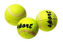 míček tenisový v sáčku, 3 ks (8595043400389)