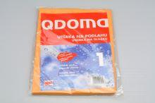 Utěrka na podlahu pro mokré i suché použití QDOMA 1ks (50x56cm) - 5902891416081