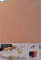 VERATEX Froté prostěradlo 100x200/16 cm (č.10-starorůžová)