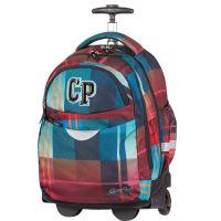 Cool pack pack batoh rychle na kolečkách cp59367 maroon