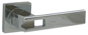 Dveřní dělené rozetové kování FIGO -QR Klika štít hranatý
