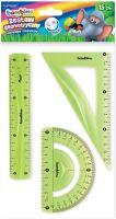 Geometrická sada bambino, 3 prvky, 15 cm, flexi