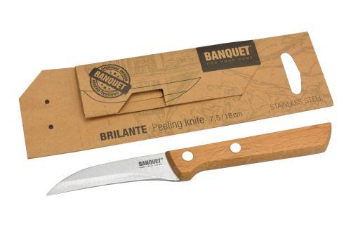 Nerezový kuchyňský loupací nůž BANQUET (7,5/18cm) - 8591022366493
