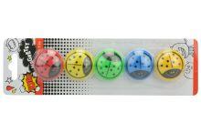 Magnetky s beruškou TOTO (3.5cm) - Mix barev 5ks - 8590331298297