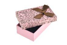Dárková krabička pro pár náušnic, prstýnek a přívěšek