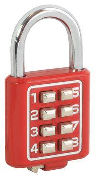 Visací zámek s kodem 8-tlačítkový HOMER