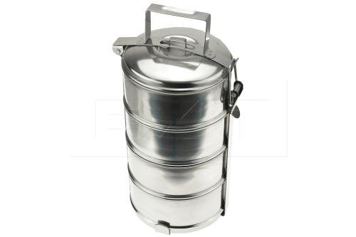 Nerezový jídlonosič - 4 dílný (30cm) - 8591634001232