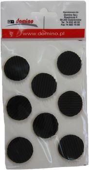 Protiskluzové podložky fi30 černá 8ks