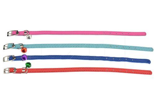 Obojek s rolničkou pro mazlíčky (30cm) - 1ks mix barev - 5900054731217