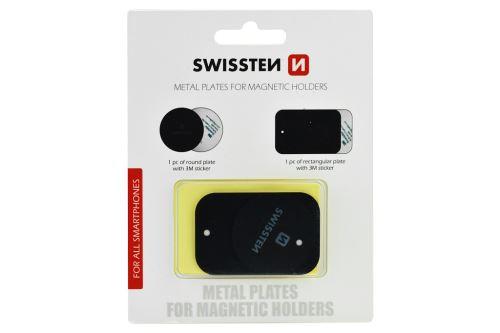 Kovové plíšky pro magnetické držáky - Sada 2ks - 8595217466135