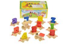 Dětský dřevěný vláček GAZELO - Digitální železnice - 5907773991762