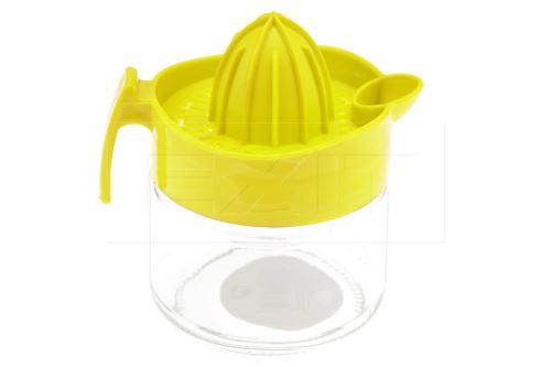 Praktický lis citrusů se skleněnou nádobou