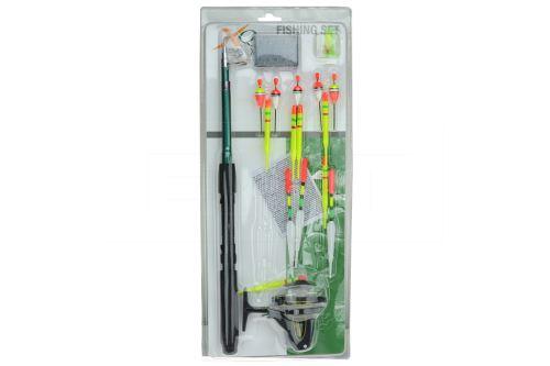 Rybářský prut s doplňky - Set 18ks