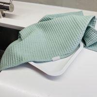 Aesthetic Bavlněná utěrka - 100% bavlna vafle - Mentolová