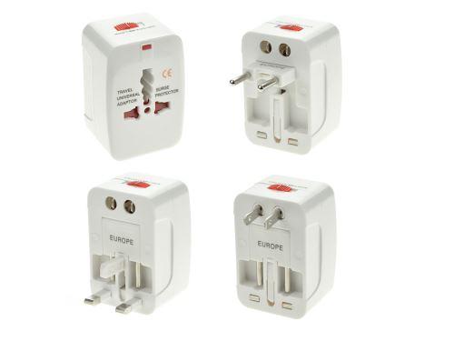 Cestovní adapter ALL IN ONE 125V 6A, 250V 13A - 8657988016527