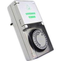GTV  PC-MECH24-ZW Mechanický programátor 24 hod, IP44