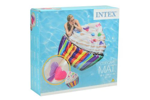 Nafukovací lehátko INTEX 58770 - Cupcake (142x135cm) - 6941057407838